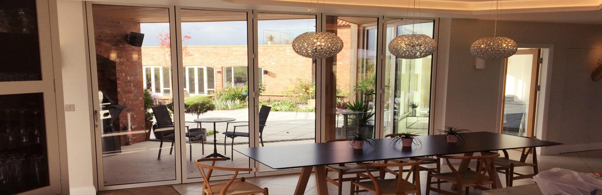 Sunflex SF45 & Internal - Sunflex SF45 Bifold Door - Park Farm Design