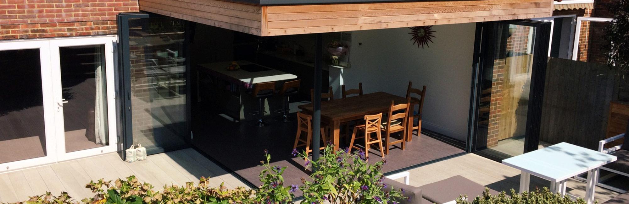 Sunflex SF55 \u0026 SF75 & Aluminium - Sunflex SF55 \u0026 SF75 Bifold Door - Park Farm Design