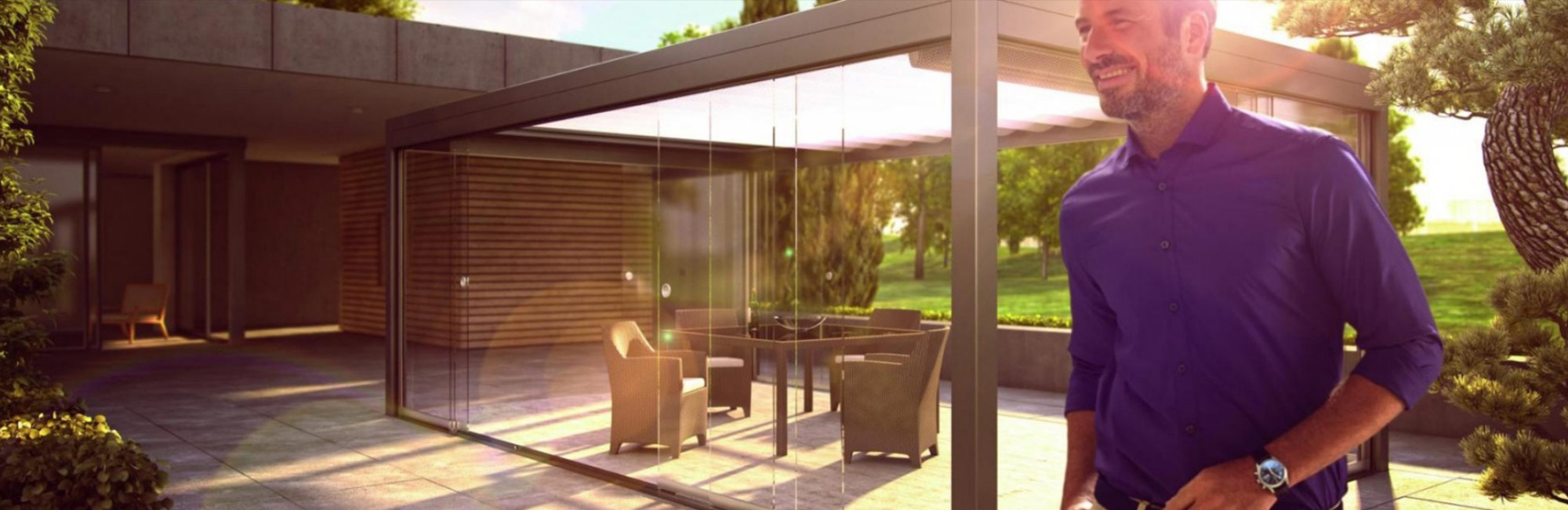 All Glass - Frameless