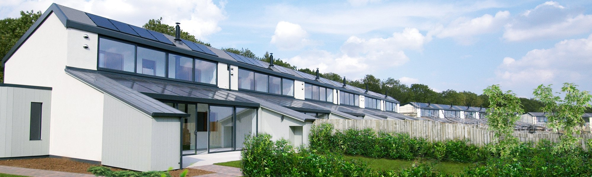 Eco Homes Sunflex SVG Composite Windows Park Farm Design