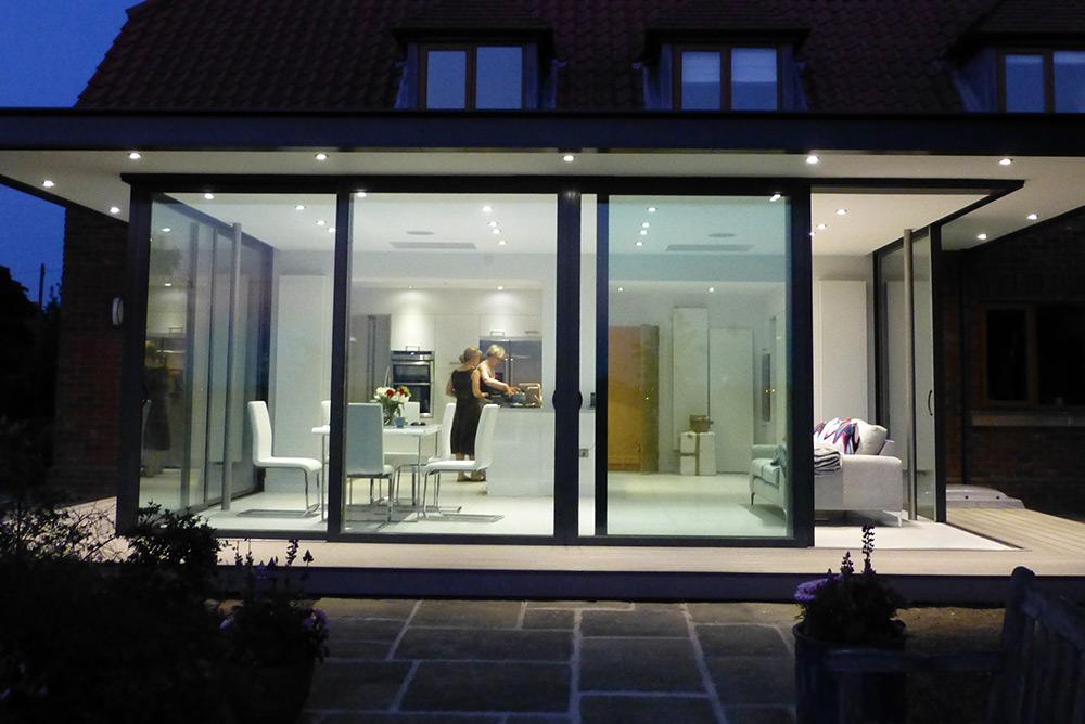 2 Sunflex SVG83 Sliding Door Park Farm Design.jpg & Ellary House - Park Farm Design