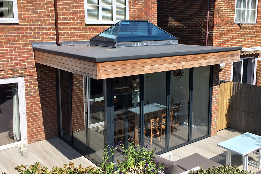 1 Sunflex SF55 Bifold Door Park Farm Design.jpg & Aluminium - Sunflex SF55 u0026 SF75 Bifold Door - Park Farm Design pezcame.com